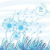 Freedom lifestyle design. Flowers of freedom lifestyle and raised theme Vector illustration Royalty Free Stock Photo