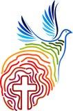 Freedom logo design Royalty Free Stock Photography