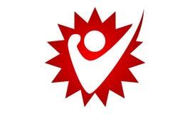 Freedom Logo Design Template Royalty Free Stock Photo