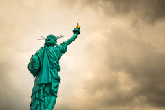 For freedom. The mini liberty sculpture from thailand Stock Photos