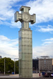 Freedom monument on Freedom Square,Tallinn,Estonia Royalty Free Stock Photography