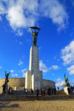 Freedom Monument on Gellert Hill, Budapest, Hungary Royalty Free Stock Images