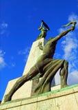 Freedom Monument on Gellert Hill, Budapest, Hungary Stock Images