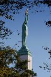 Freedom Monument in Riga Stock Photos