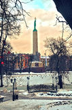 Freedom monument in Riga Royalty Free Stock Photography