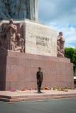 Freedom monument, Riga, Latvia Royalty Free Stock Photography