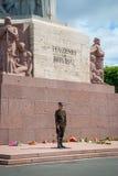 Freedom monument, Riga, Latvia Stock Images