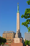 Freedom Monument in Riga Latvia Royalty Free Stock Photography