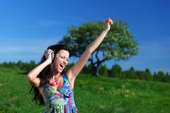 Freedom music Royalty Free Stock Images