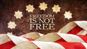 Freedom is not Free. Usa. Freedom is not Free. Stars and Stripes Royalty Free Stock Image