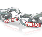Free Freedom Nothing Holds You Back Chain Links Breaking Free Stock Photography - 31479572