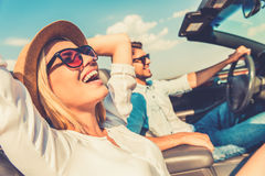 Freedom of the open road. Royalty Free Stock Photo