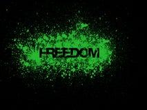 Freedom painting Stock Photos