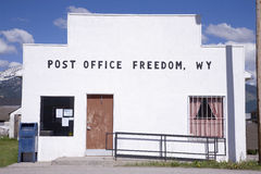 Freedom post office Royalty Free Stock Image