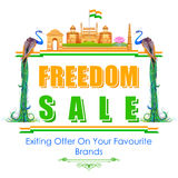Freedom Sale of India Stock Image