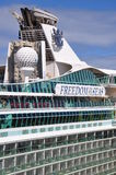 Freedom of the Seas funnel. Freedom of the Seas ships funnel, Royal Caribbean Cruise Lines Royalty Free Stock Photos