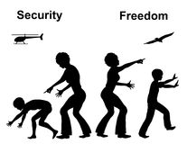 Freedom and Security Stock Photography