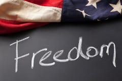Freedom sign Stock Image