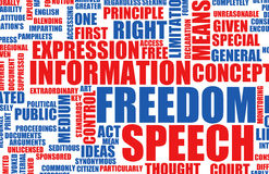Freedom of Speech Royalty Free Stock Photos