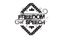 Freedom. Of speech Royalty Free Stock Photography