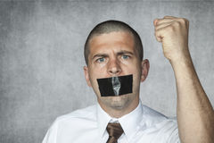 Freedom of speech Royalty Free Stock Images
