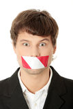 Freedom of speech concept. Royalty Free Stock Image