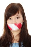 Freedom of speech concept. Royalty Free Stock Photo