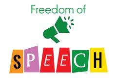 Freedom of speech Royalty Free Stock Photos