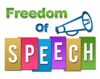 Freedom Of Speech Professional Colorful Stock Photos