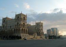Freedom Square Baku stock photo