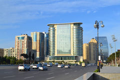 Freedom square in baku Stock Photography