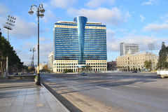 Freedom square in Baku Stock Images