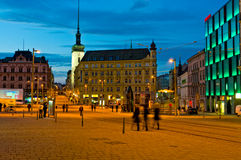Freedom Square in Brno. Royalty Free Stock Images