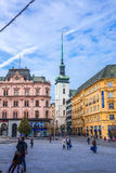 Freedom square in Brno Royalty Free Stock Photo