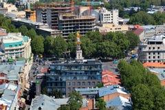 Freedom Square in central Tbilisi, Georgia