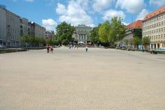 Freedom square in Poznan, Poland Stock Image