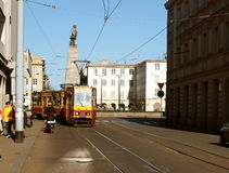 Freedom Square tram. Stock Image