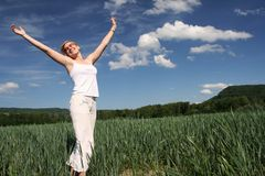 Freedom summer time Stock Images
