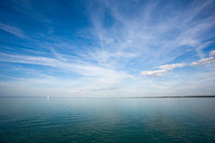 Freedom, sunshine, sky, sailing. Stock Photography