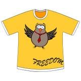 Freedom t-shirt Royalty Free Stock Image