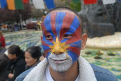 Freedom for Tibet Rally Royalty Free Stock Images