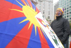 Freedom for Tibet Rally Royalty Free Stock Photo