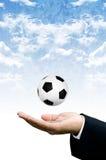 Freedom to play football Royalty Free Stock Photo