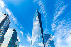 Freedom Tower à New York City, Etats-Unis photo stock