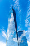 Freedom Tower à New York City, Etats-Unis images stock