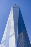 Freedom Tower, Één World Trade Center, de Stad van New York, de V.S. Stock Foto's