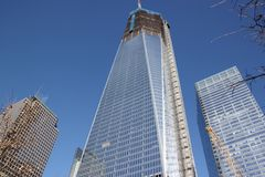 Freedom Tower Royalty Free Stock Photo