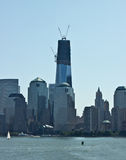 Freedom Tower. Construction of the freedom tower Royalty Free Stock Photos