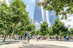 Freedom Tower Royaltyfri Fotografi