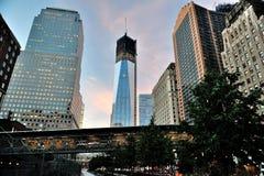 Freedom Tower Fotografía de archivo libre de regalías